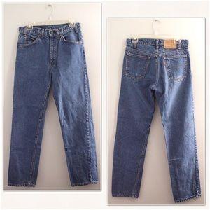 Levi's orange tab 70's high rise mom jeans